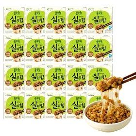 ★풀무원 살아있는 실의 힘 국산콩 냉동나또 40팩