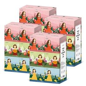 캐릭터 미니 미용티슈 250매 6입 4팩